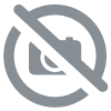 Bouton chemise 4 trous chocolat polyester 12mm